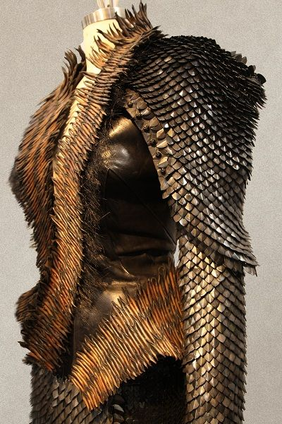 A costume from Snow White and the Huntsman. The entire costume set was designed by Oscar winner Colleen Atwood.          Next »      « Previous          5/51