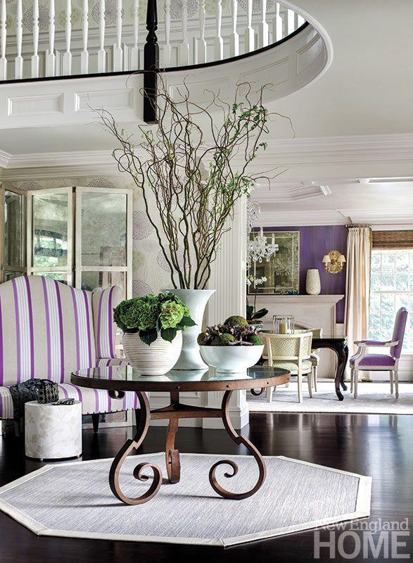 яркие краски в дизайне интерьера