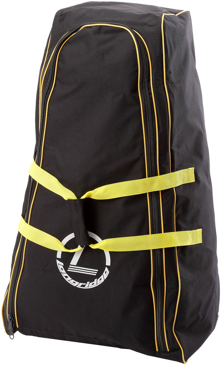 Deluxe Pull Golf Trolley Cover. Deluxe golf trolley carry bag. Large size fits most trolleys. Strong & durable material. Colour: Black/Yellow. Size: 53cm x 32cm x 93cm.