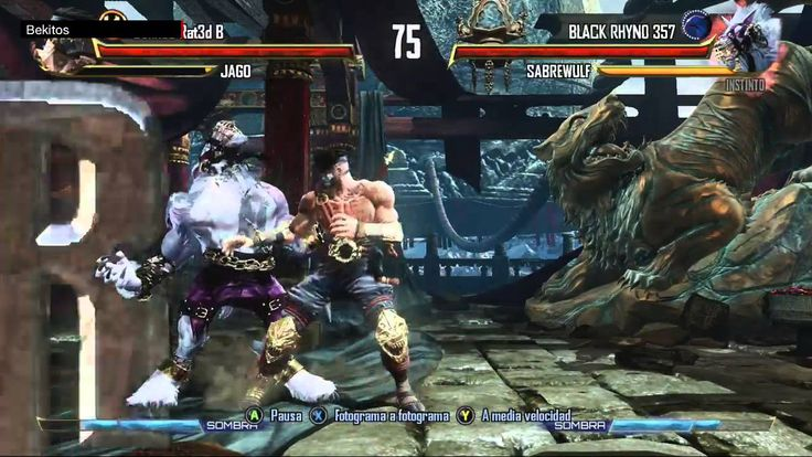 Killer Instinct Online Ranked Match - vs a Killer Troll (60fps)