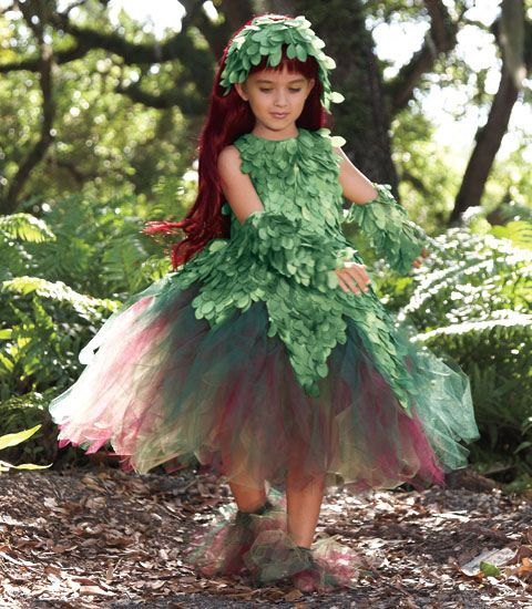 An Ivy costume for Ivy.  I love Chasing Fireflies costumes!