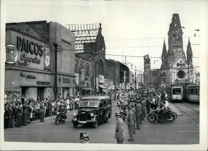 1953 Staatsbesuch in der City-West
