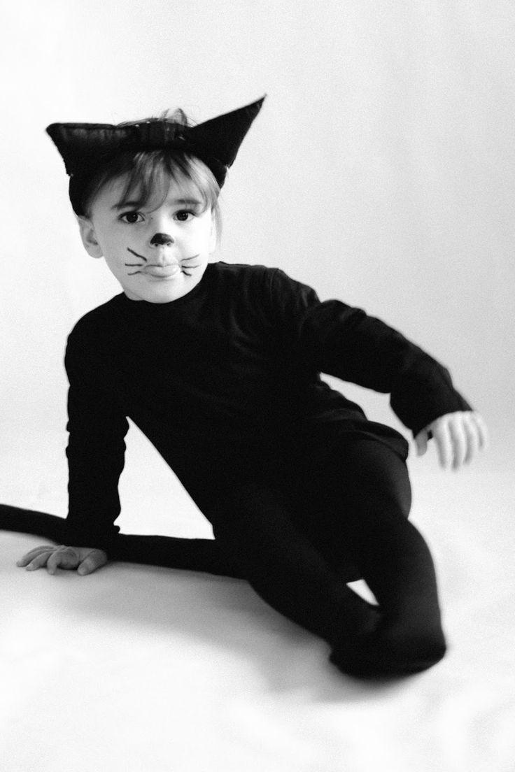 Disfraz de gato fácil : via MIBLOG