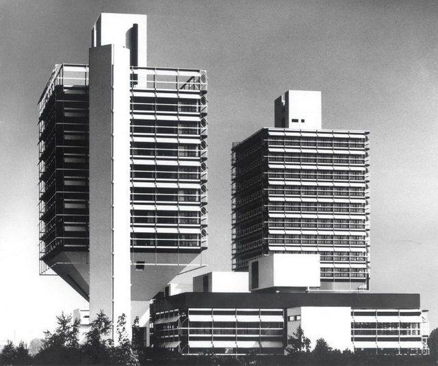 Olivetti-Hochhaus Turm II - Egon Eiermann