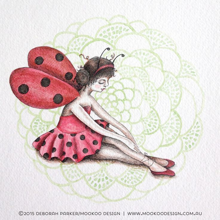 Week 4: Insects No. 2. Lady Bug.