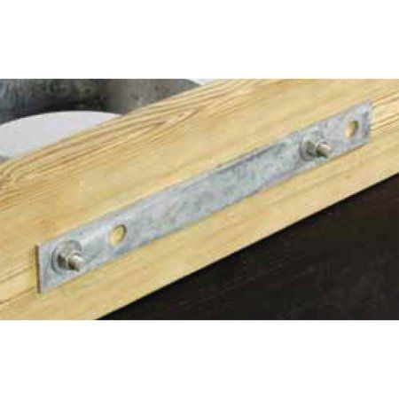 Tie Down Engineering Dock Hardware Backing Plate/Hurricane Strap, Standard Grade