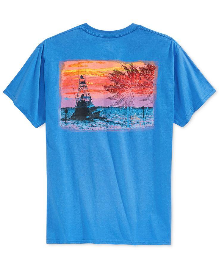 Guy Harvey Gulfstream Graphic T-Shirt - T-Shirts - Men - Macy's