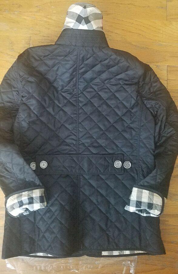 Burberry Brit Women S Black Copford Diamond Quilted Jacket Size Xs S M Apos Black Women Vintage Formal Dresses Quilted Jacket Burberry Women