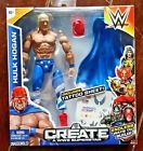 Brand New WWE HULK HOGAN Create A WWE Superstar Figure! Includes Tattoo Sheet!