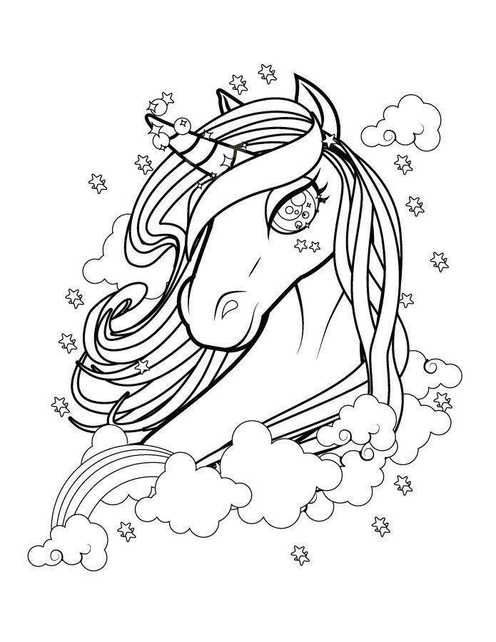 Belle licorne coloriage magnifique gratuit imprimer color me kleurplaten kleuren eenhoorn - Coloriage magnifique ...