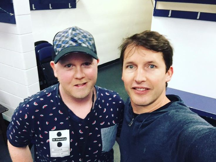 Podcast: James Blunt chatted with Adam Taylor before his set on Ed Sheeran's Divide World Tour Kiss 102.3 Winnipeg 22.07.2017
