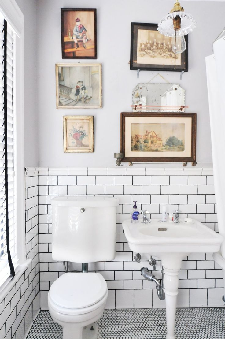 Details about hassam garden painting ceramic bathroom tile murals 2 - Oscar S Well Preserved Dc Rowhouse
