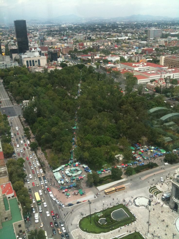 View from Mirador Torre Latinoamericana