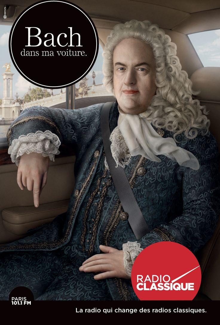 Bach dans ma voiture. BDDP & Fils
