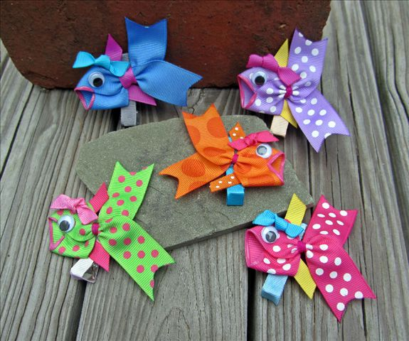 Everyday Sculpted Ribbon Hair Clips