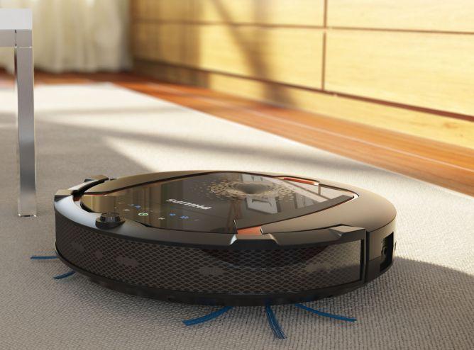 Robotul de aspirare Philips, un ajutor de nadejde pentru o curatenie rapida si impecabila.