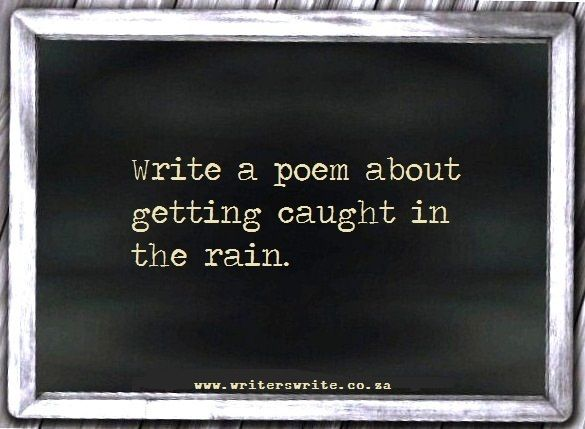 creative ideas for writing poetry