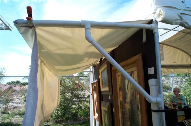 diy awning | outdoor decorating | Pinterest