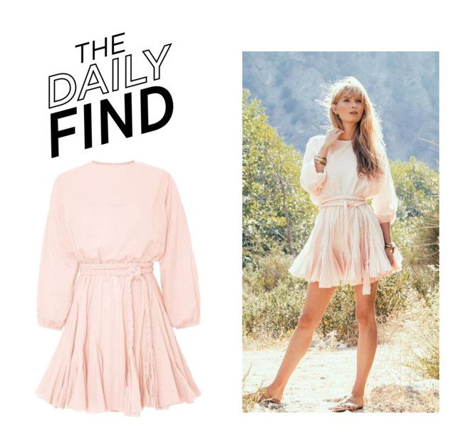 """""""The Daily Find: Rhode Resort Dress"""" by polyvore-editorial ❤ liked on Polyvore featuring Rhode Resort and DailyFind"""