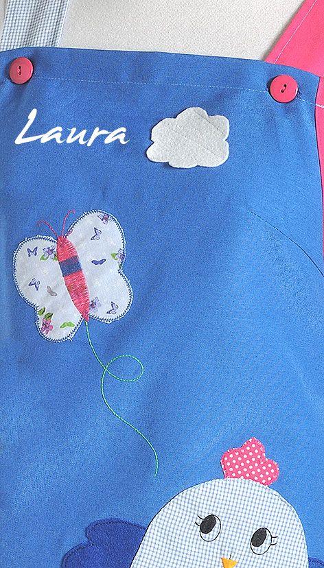 € 27.00 Estola Patchwork Mariposa Azul