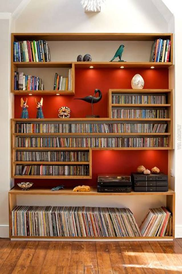 Beautiful 15+ Unique Stylish CD And DVD Storage Ideas