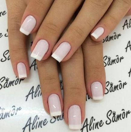 french nails with rhinestones Simple #frenchnailselegant