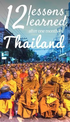 What We Learnt After One Month Living in Thailand. Click here to find out more!