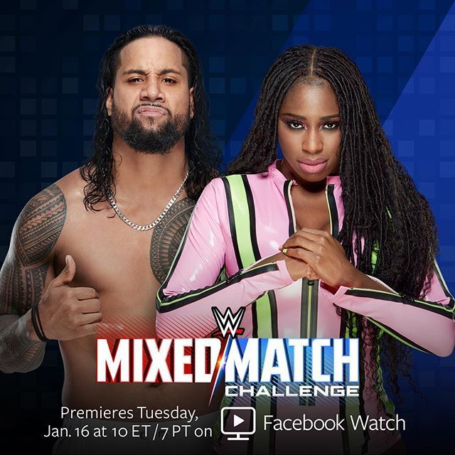 "WWE on Instagram: ""The latest team that's ""glowing"" to represent #SDLive in the #WWEMMC: @jonathanfatu and @trinity_fatu!"""
