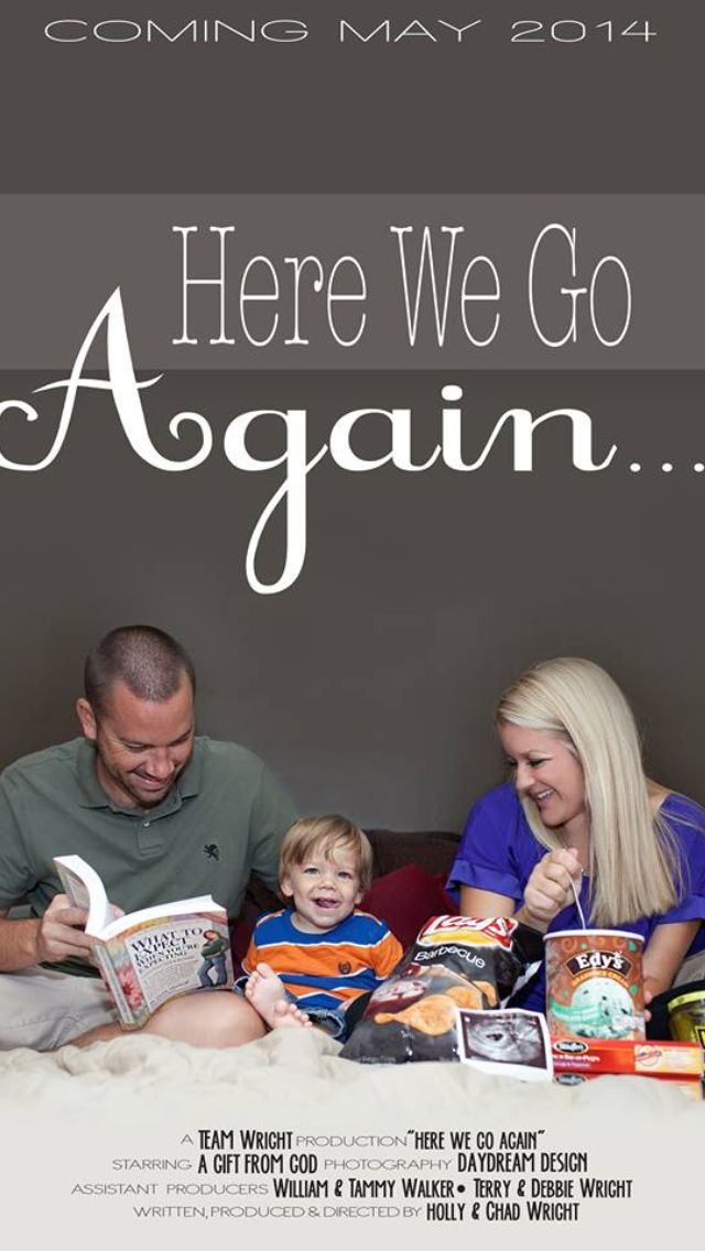 Ordinaire 25+ Best Ideas About Second Baby Announcements On Pinterest 2nd Baby  Announ... Pregnancy Christmas Card Announcement By LukensHagedornDesign
