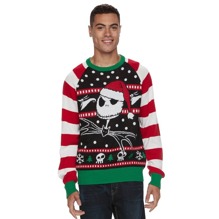 Mer enn 25 bra ideer om Nightmare before christmas sweater på ...