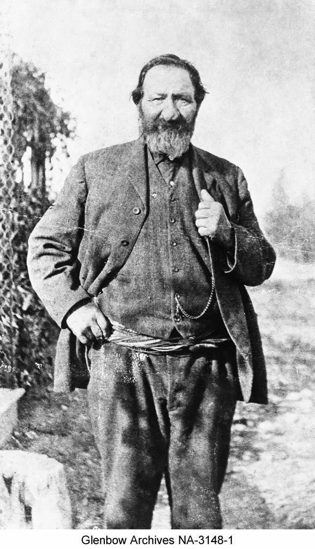 Peter Erasmus, Metis, Alberta: Translator, Treaty 6 Negotiations, 1876.