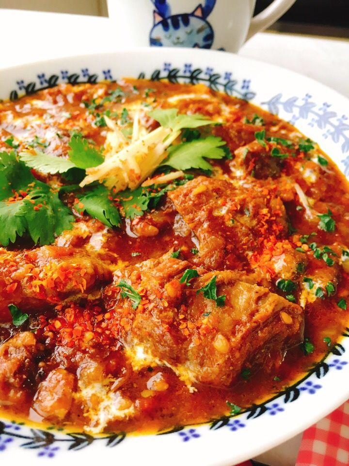 misuzu's dish photo こっくり牛すじカレー | http://snapdish.co #SnapDish #レシピ #肉料理 #ダイエット料理グランプリ2016 #美容/ダイエット #カレー