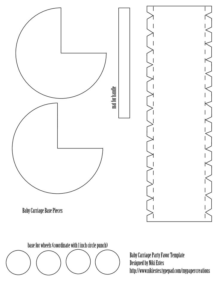 Baby Carriage Template | baby carriage template