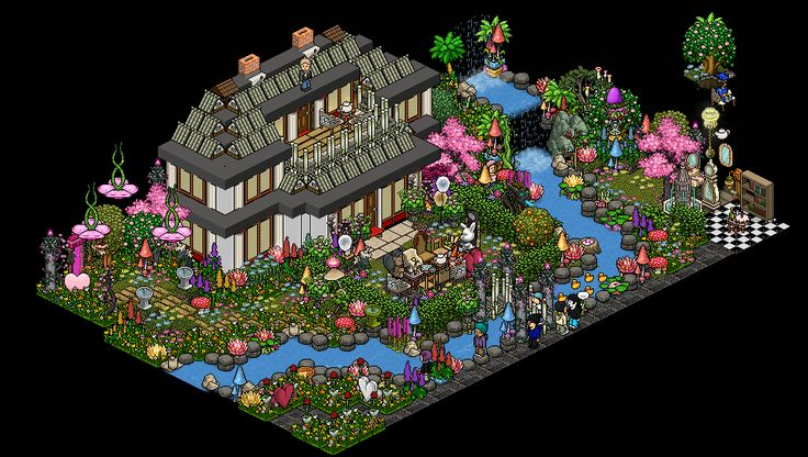 Habbo Room Ideas