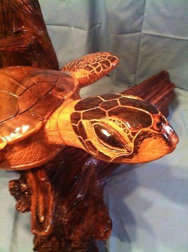 28 Best Turtle Carving Images On Pinterest Carved Wood