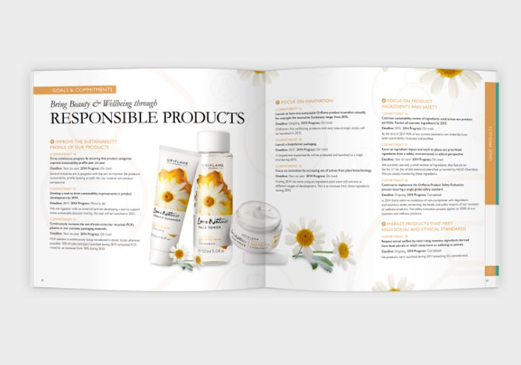 Oriflame's Sustainability Report 2014