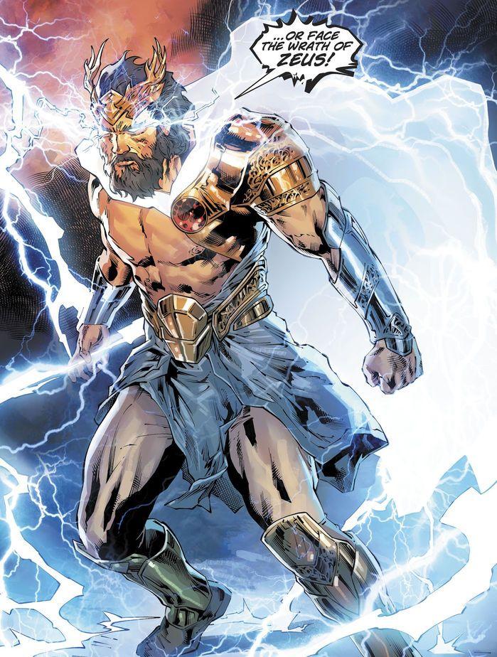 Zeus Prime Earth Dc Comics Art Comics Artwork Image Comics