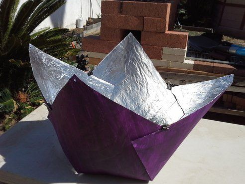 Build a solar cooker for just $5 : TreeHugger