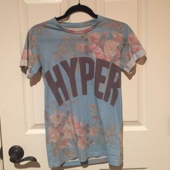Urban Putfitters HYPER Tshirt Small graphic tee- UO Urban Outfitters Tops Tees - Short Sleeve