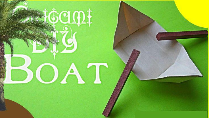DIY Оригами ЛОДКА #2. Как сделать КАНОЭ из бумаги | Origami How to Make a Paper Boat Canoe. #DIY #Origami #Paper #Handmade #Howtomake #Craft #Оригами #МК #мастеркласс #КакСделать #СвоимиРуками #ПоделкиИзБумаги #чтоподарить #подароксвоимируками #деньрождения