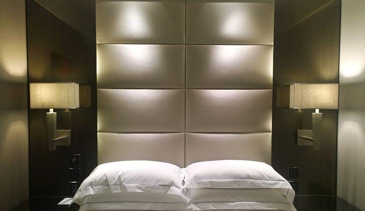 PORTFOLIO: HOTEL CAVOUR: Room; Architectural project of interiors of Premium rooms, credits Chico de Luigi