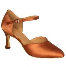 misu - Zapatillas de danza para mujer Negro negro, color Beige, talla 40 2/3