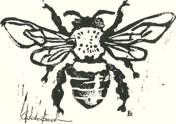 """""""Fame is a Bee"""" ode to the honey bee"""