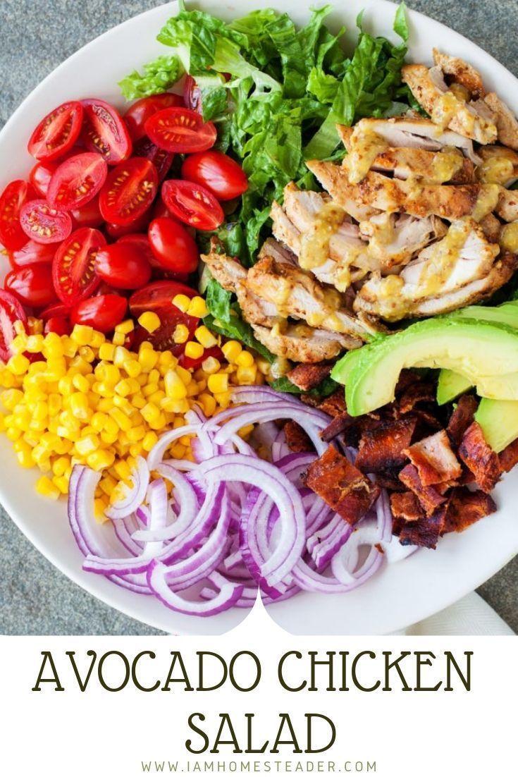Avocado Chicken Salad Recipe Avocado Chicken Salad Chicken