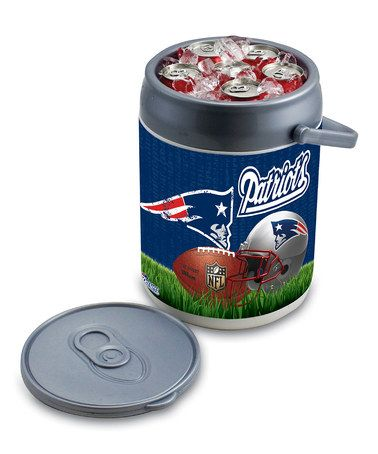 Take a look at this New England Patriots Can Cooler by NFL Game Day: Tailgating Essentials on #zulily today!