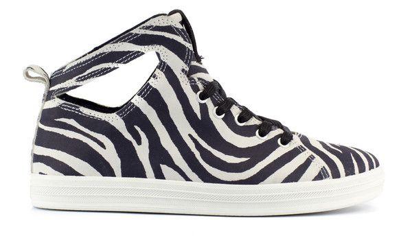 Womens Uno AP: Black/White/Tiger