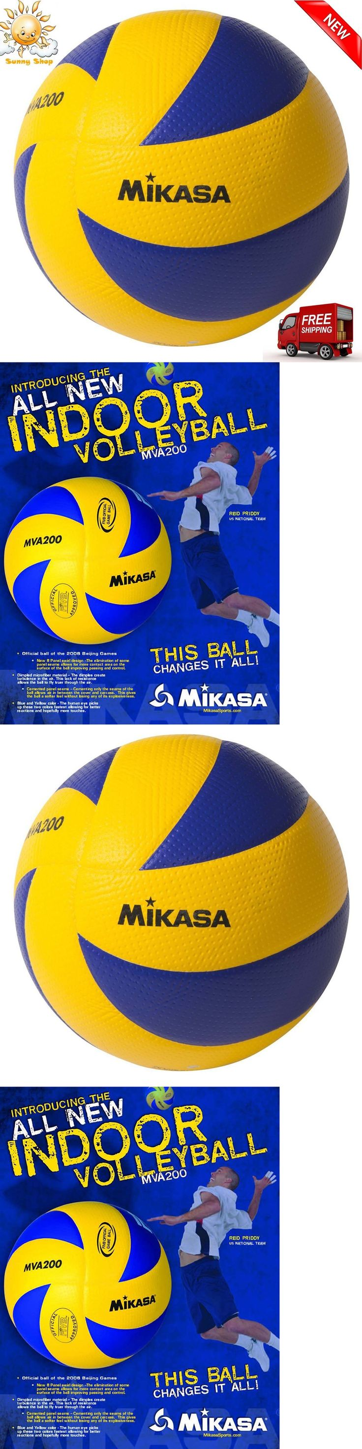 Volleyballs 159132: Mikasa Fivb Volleyball Official Olympic Game Ball Dimpled Surface Mva200 New -> BUY IT NOW ONLY: $45.89 on eBay!