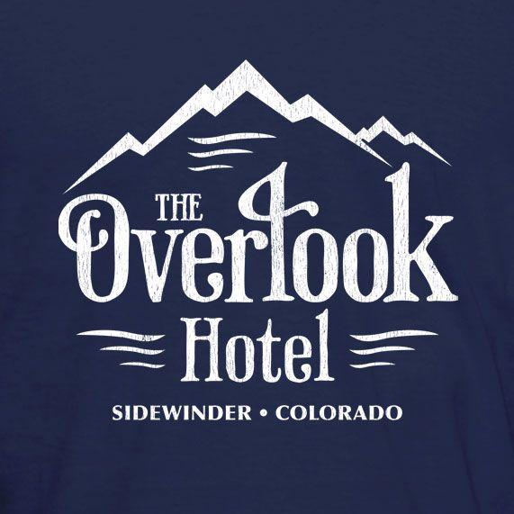 Overlook Retro Horror Hotel Classic Heres Shining Johnny Inspired T-Shirt