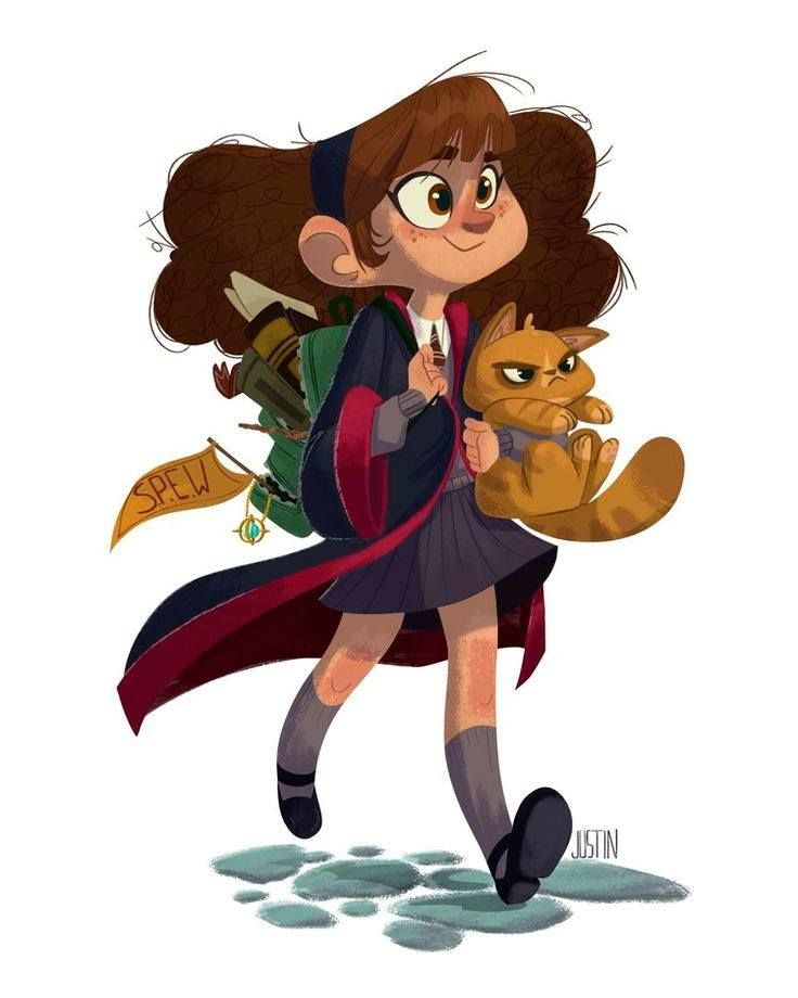 """""""Hermione Granger"""" by Justin Rodrigues*  • Blog/Website 