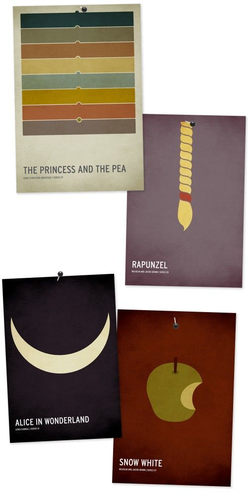 Fairytale posters.
